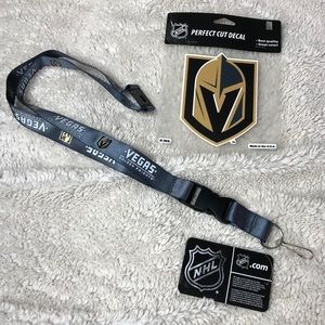 NHL Lanyard and Decal